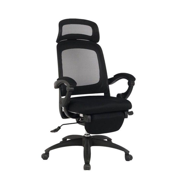 Viva Office Ergonomic High-Back Recliner Office Chair with Footrest  sc 1 st  Pinterest & Best 25+ Reclining office chair ideas on Pinterest   Recliners ... islam-shia.org