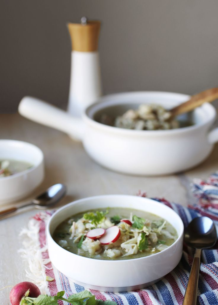 Authentic Mexican Pozole Verde for Warming Winter Meals