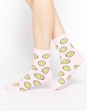 ASOS Kiwi Ankle Socks