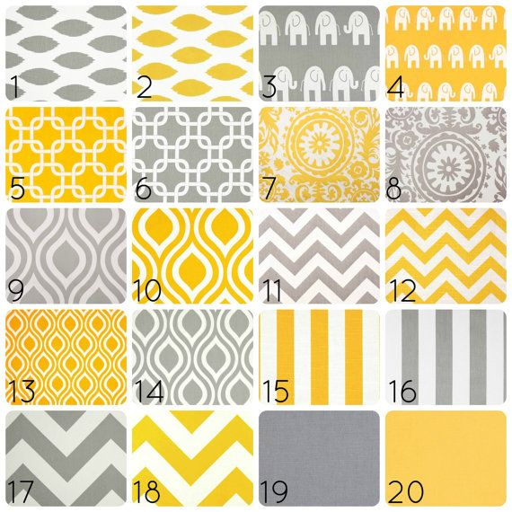 Yellow or Gray Curtain Panels. 50 X 84 Inches. by thebluebirdshop, $125.00
