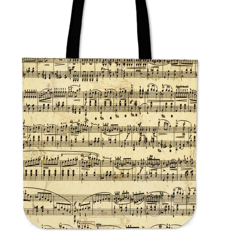 New in our shop! Sheet Music Tote Bag http://oompah.shop/products/sheet-music-tote-bag-1