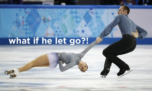 So funny! Don't look at these in class... you'll die holding in your laughter. 27 Things You're Really Thinking When You Watch Figure Skating