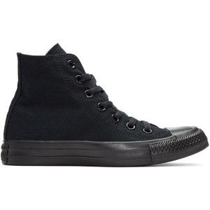 Converse Black Classic Chuck Taylor All Star OX High-Top Sneakers
