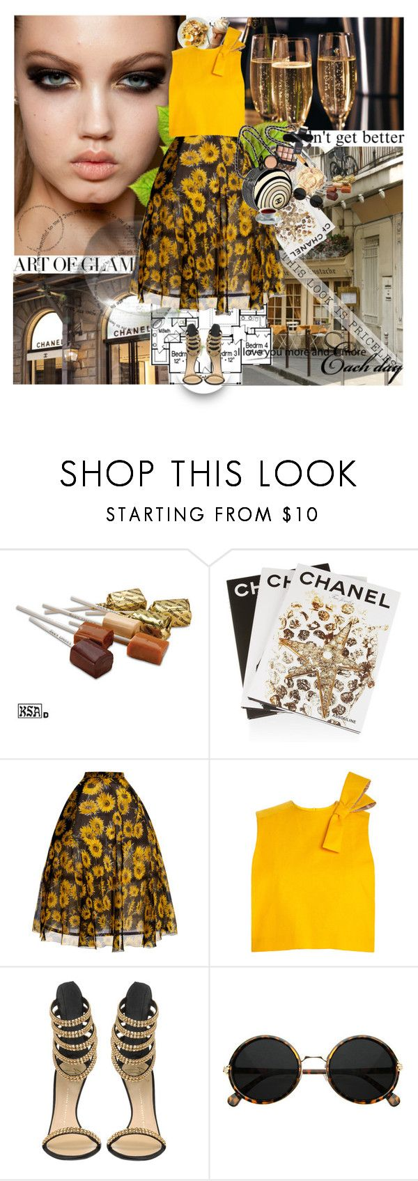 """Extravagance"" by anul1 ❤ liked on Polyvore featuring MAC Cosmetics, Assouline Publishing, Delpozo, Giuseppe Zanotti, Chanel and It Cosmetics"