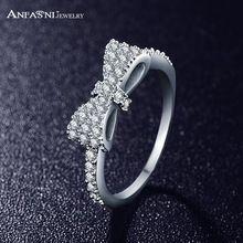 Anfasni arco-nudo precioso para las niñas princesa elegante micro incrustaciones accesorios bijoux joyería cri0143-b(China (Mainland))