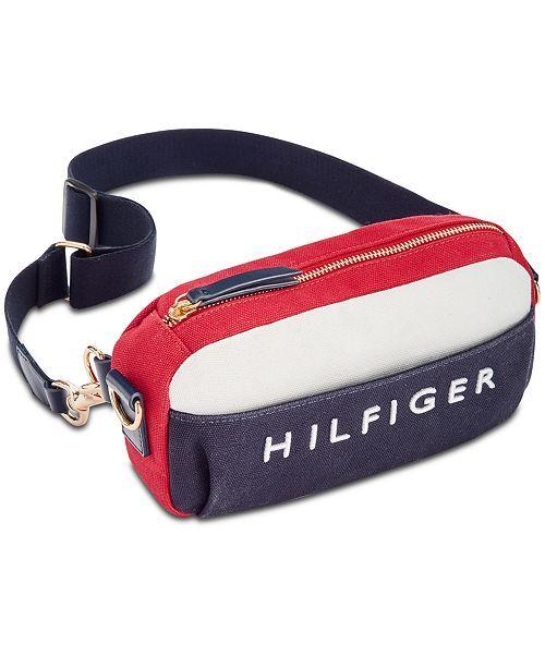 da8410ac0a main image Tommy Hilfiger Belt, Bum Bag, Small Canvas, Tommy Shop, Packers