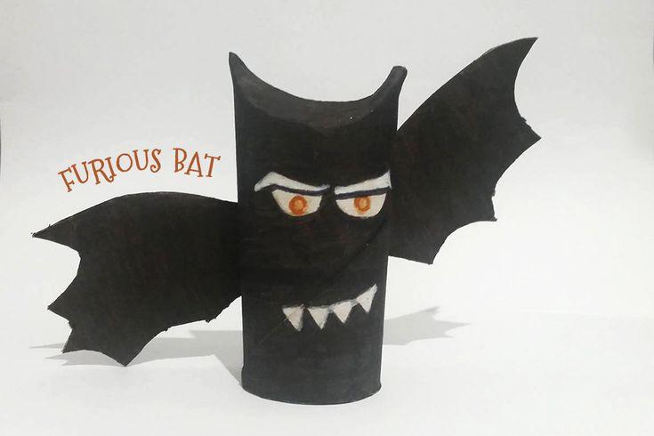Dans un mois c'est Halloween !!! On vous propose un tuto méga simple pour réaliser des petites chauves-souris toutes mignonnes pour Halloween :)