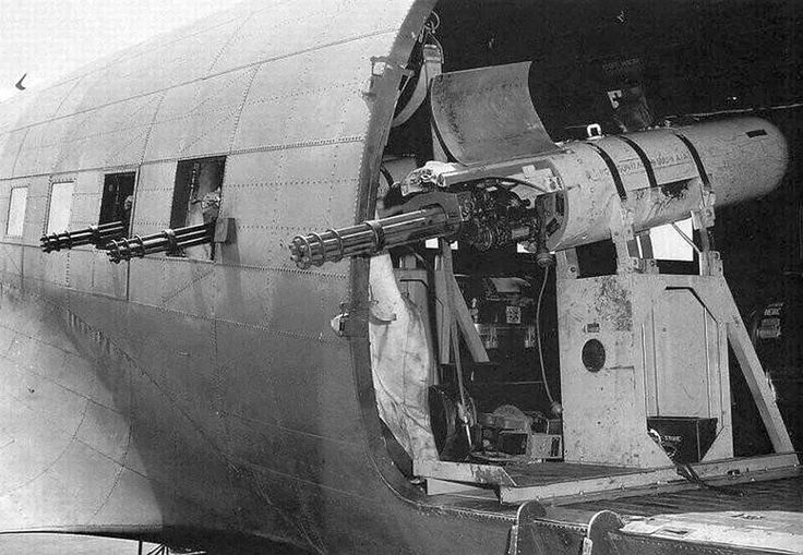 Hell from above!  Puff the Magic Dragon...C-47 Gunship