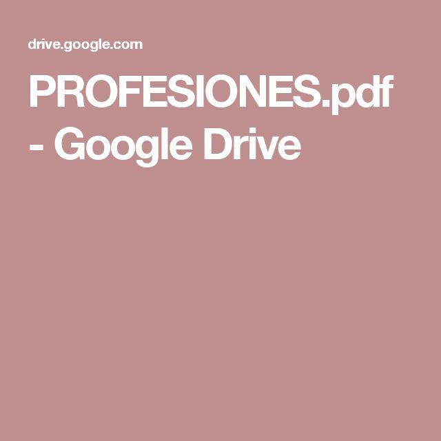 PROFESIONES.pdf - Google Drive