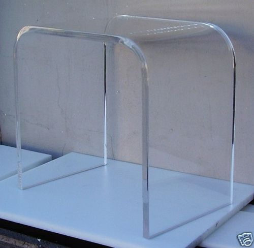 ... Acrylic Lucite Plexiglass End Table Lucite  eBay - For nightstand