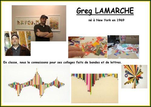A la manière de Greg Lamarche