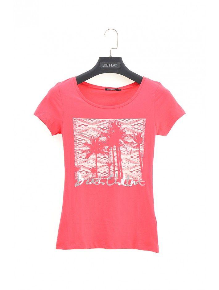 Dámske tričko Chillout - Dámske tričká s krátkym rukávom - Dámske tričká - Dámske oblečenie - JUSTPLAY