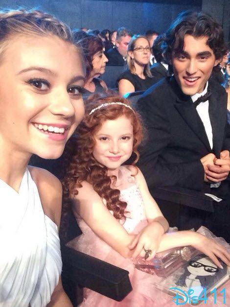 Dog with a blog cast had fun at The 2014 Creative Arts Emmy Awards