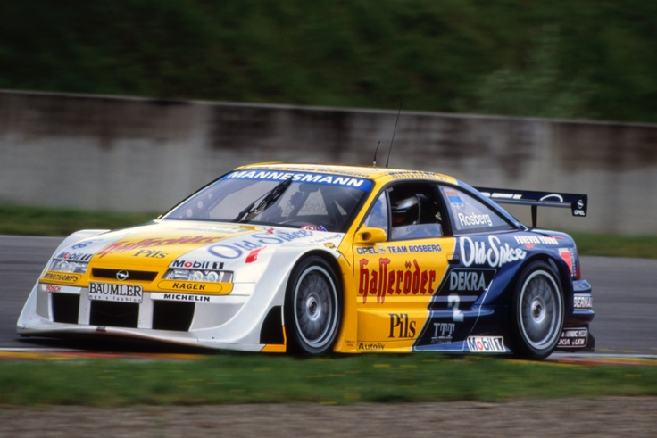 Opel Calibra DTM 1996 - Rosberg more DTM fever !