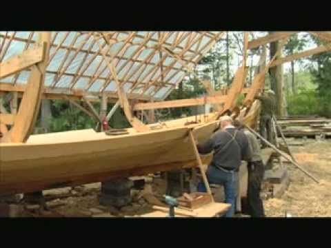 Jay Smith - Viking Ship Builder.  Very cool video of the construction of a Norwegian Viking longship.