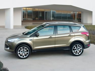 The new Ford Kuga -- side view.