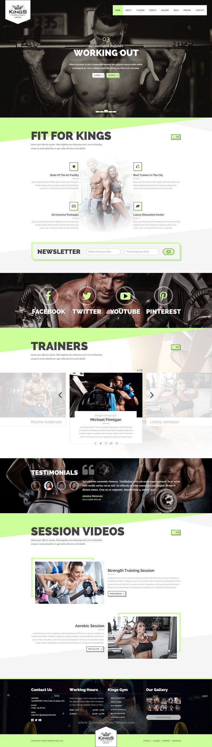 221 best Workout Website images on Pinterest | Website designs ...