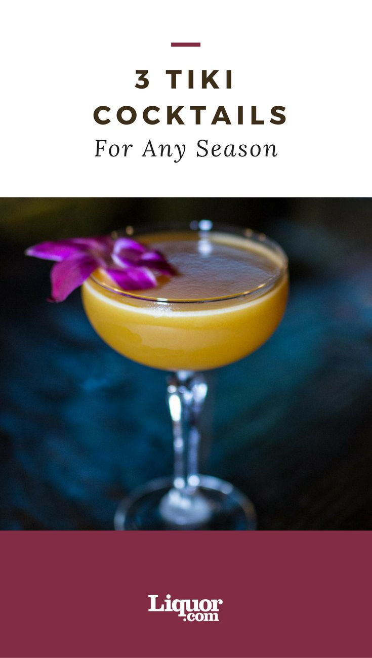 These 3 #tiki #cocktails are perfect for any occasion