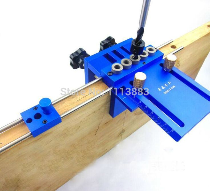 Купить товарNew Upgraded High Precision Dowelling Jig With 5 Metric Dowel Holes(6mm,8mm,10mm) For Very Accurate Woodworking Joinery http://ali.pub/cl2va