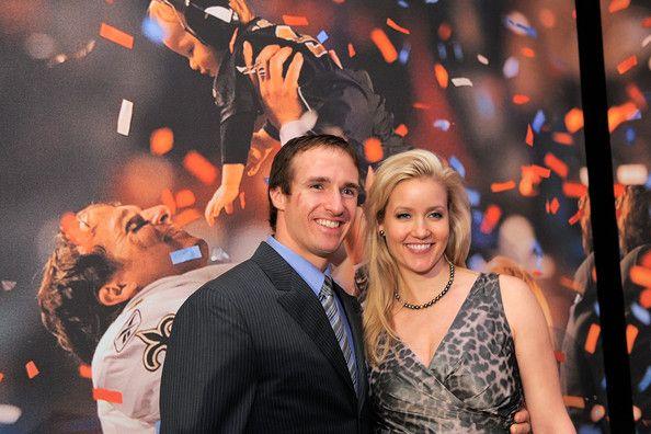 Drew Brees and Brittany Brees - 2010 Sports Illustrated Sportsman of the Year Celebration - Inside www.saintsnews.net - www.facebook.com/saintsnews