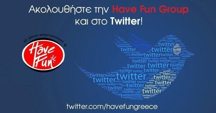 Εσείς ακολουθήσατε την Have Fun Group στο Twitter? https://twitter.com/havefungreece