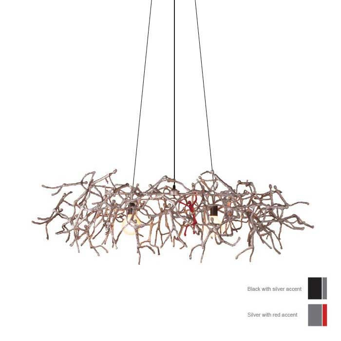 Little People Rectangular Indoor Hanging Lamp