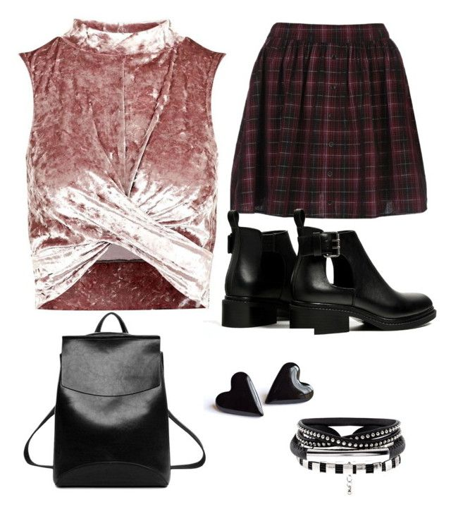 """""""Little grunge girl"""" by magkulinska on Polyvore featuring Topshop"""