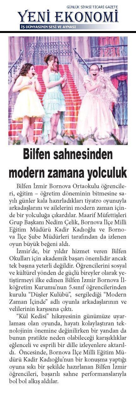 Yeni Ekonomi Gazetesi - 13.06.2016