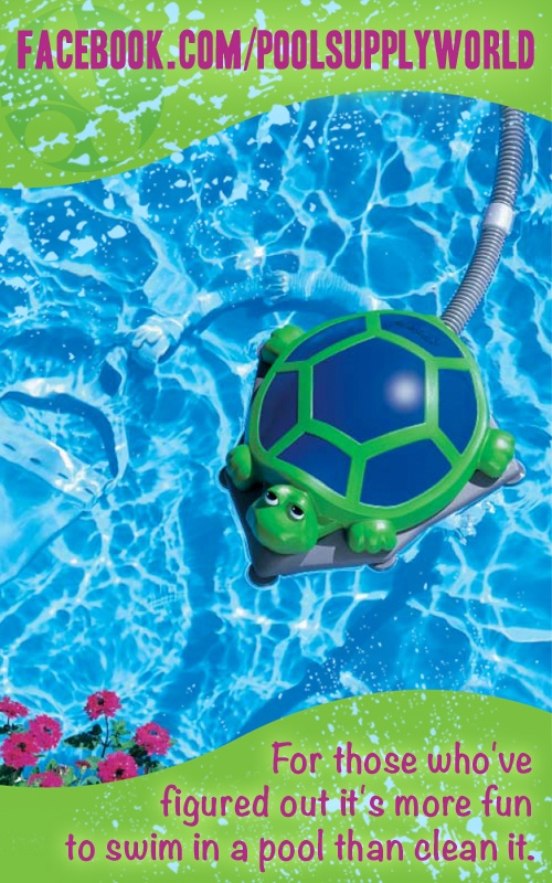 Let the Polaris Turbo Turtle clean your pool so YOU can RELAX!
