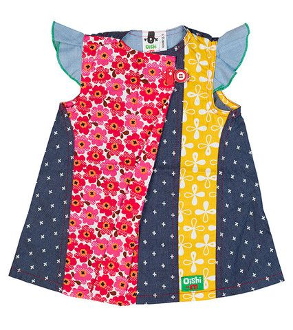 Tante Dress http://www.oishi-m.com/collections/all/products/tante-dress Funky kids designer clothing