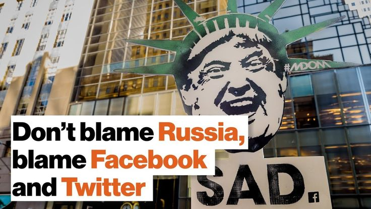 Political Extremism in America: Don't blame Russia, blame Facebook and Twitter | Niall Ferguson - YouTube