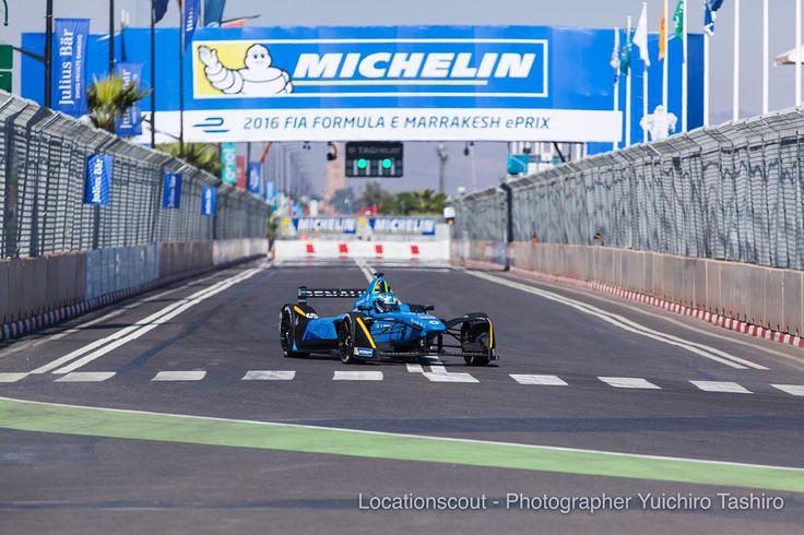 #press #renaultedams at #qualifying of #marrakecheprix #fiaformulae #poleposition #racing #blue #startposition