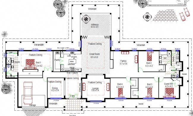 Homestead House Plans Australian Floor Plans Modernhomedecorbathroom House Plans Australia Large House Plans Australian House Plans