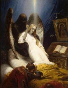 Angel of Death - Horace Vernet - The Athenaeum