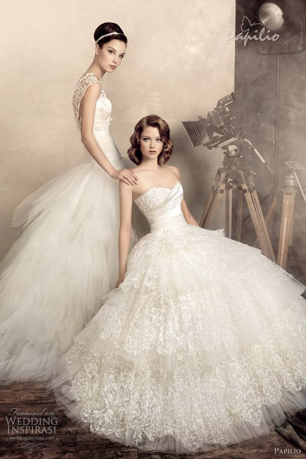 Papilio Wedding Dresses 2013 | Wedding Inspirasi