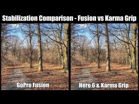 GoPro Fusion vs Karma Grip | Stabilization Comparison
