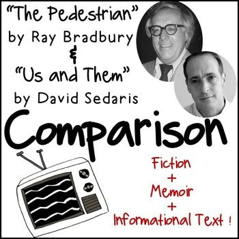 pedestrian by ray bradbury essay Technology and society illustrated in ray bradbury's pedestrian  cause and  effect essay - the right of way in the state of washington, pedestrians have.
