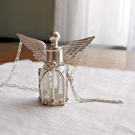 Patronus Perfume Live Fearlessly Sterling Silver Encased