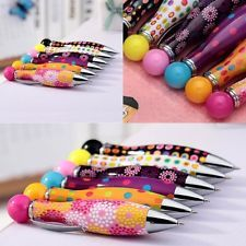 6pcs Bowling Shape Ball Point Pens  Gel Study Pen Stationery Student Gifts Cute
