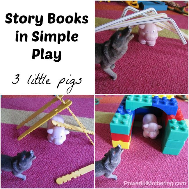 Story Books in Simple Play #simpleplay