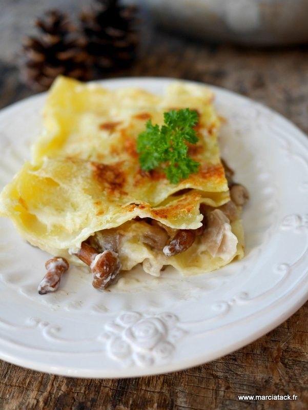 Des lasagnes aux couleurs d'automne … En cuisine, il y a deux véritables plats fourre-tout : les lasagnes et les tartes salées. Pour les lasagnes c'est facile : il suffit de chercher ce qui traîne dans le frigo (légumes de saison, fond de ratatouille, reste de poulet rôti) et d'y ajouter une petite béchamel.En savoir plus