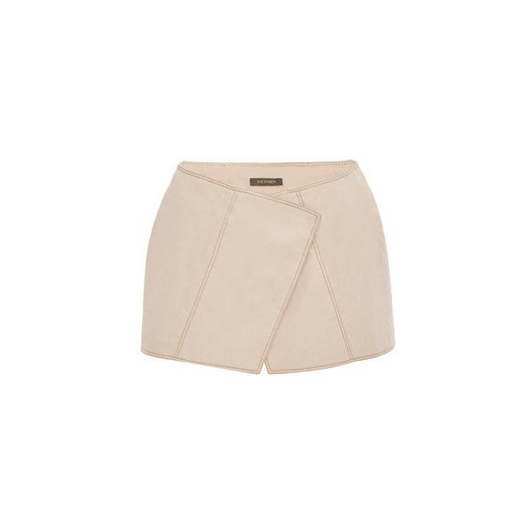 Zac Posen     Mini Shorts (8.417.500 IDR) ❤ liked on Polyvore featuring shorts, mini short shorts, hot pants, micro shorts, micro mini shorts and hot short shorts