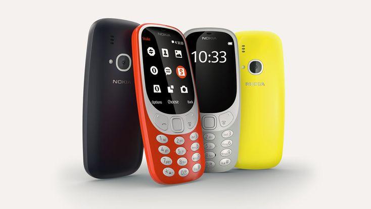 """HMD Global ha annunciato il nuovo Nokia 3310, un cellulare """"vecchio stile"""" con tastiera fisica, display a colori tondeggiante da 2,4″ QVGA, fotocamera da 2Mega Pixel, 16MB di memoria interna (espandibile fino a 32GB tramite microSD), radio FM, player MP3, Bluetooth3.0 e batteria rimovibile da 1200mAh in grado di garantire fino a 22ore di conversazione …"""