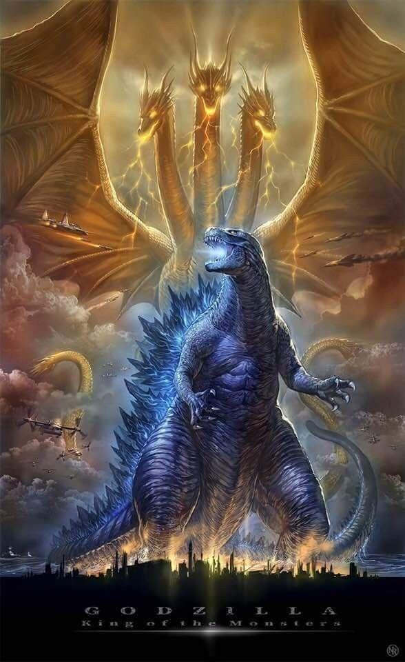 Pin By Tigrilloanlari On Godzilla And Other Movie Monsters All Godzilla Monsters Godzilla Vs King Ghidorah Godzilla Wallpaper