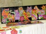 Artsonia Art Exhibit :: Collaborative Art Show Projects from Cathedral School