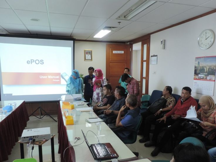 Pengarahan UPPD Kembangan tentang alat e-POS ke pada Wajib Pajak