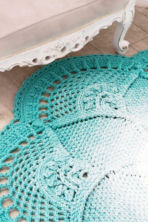 Pattern Crochet Large Rug