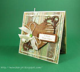 Z okazji Dnia Ojca przesyłam najserdeczniejsze życzenia wszystkim tatusiom :) A oprócz życzeń mam trzy męskie karteczki, w przy tworzeniu kt...