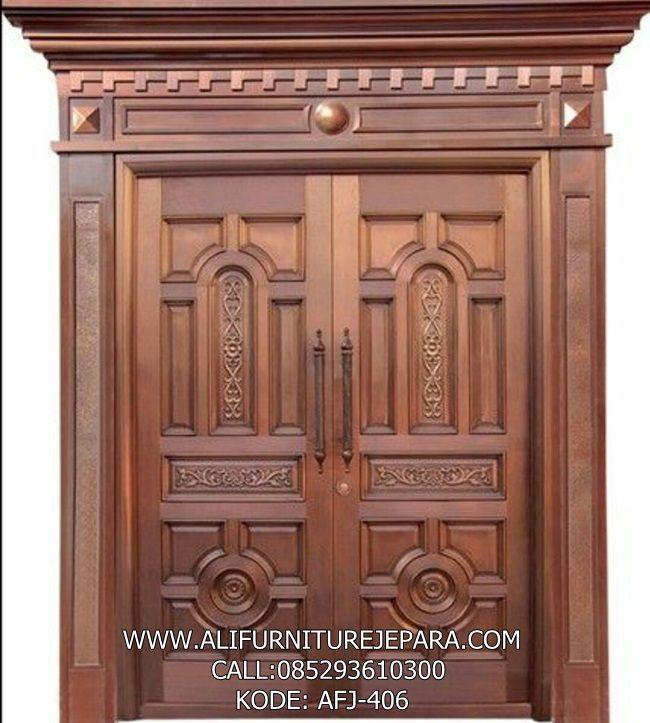 Jual Pintu Tarung Rumah Utama Mewah Afj 406 Nama Jual Pintu Tarung Rumah Utama Mewah Kode Afj 406 Bahan K Door Design Double Door Design Wooden Door Design