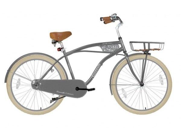 Αυτό το ποδήλατο Hollandia έχει ατσάλινο πλαίσιο, με ξύλινα πηχάκια. Το ποδήλατο έχει 26 ιντσες XXL ελαστικά cruiser. Οι ζάντες ψεκάζονται στο χρώμα του πλαισίου. Διαθέτει ένα παραδοσιακό, ημι-κλειστό προστατευτικό της αλυσίδας, και ο στροφαλοφόρος άξονας είναι ευκολος στην συντήρηση, χάρη σε ένα πατενταρισμένο σύστημα κασέτα. Ο πίσω άξονας με backpedal φρένων είναι ένα διάσημο ευρωπαϊκό εμπορικό σήμα, το οποίο εγγυάται πολλά χρόνια απόλαυσης ποδηλασίας. Το ποδήλατο δεν έχει μια τυπική…